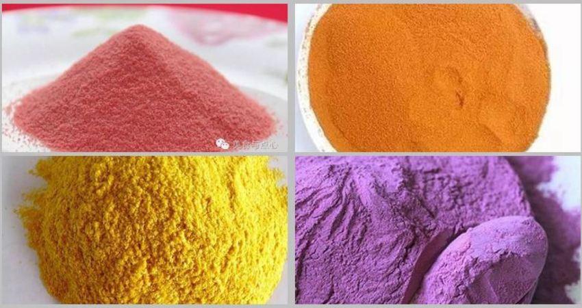 烘培用【純天然色素】讓家人吃得更健康。這些色素都可以自己在家做哦!!