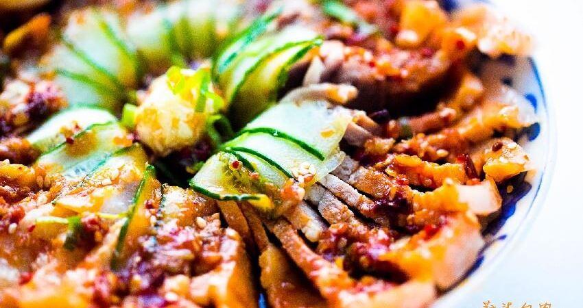 五花肉最解饞的做法,就是麻辣蒜泥白肉,原汁原味口感軟硬適中