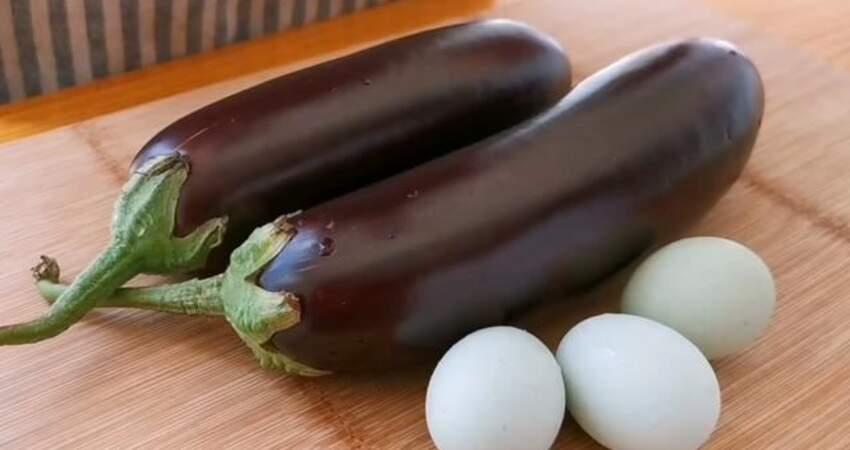 茄子不要炒著吃,加3個雞蛋,比吃紅燒肉還香,吃一次就忘不了