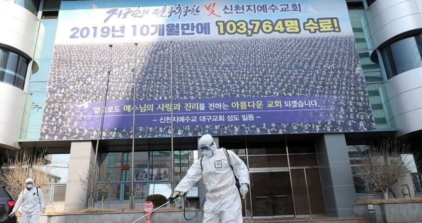 韓國新冠肺炎確診數字急增至204例單日內再新增100例!