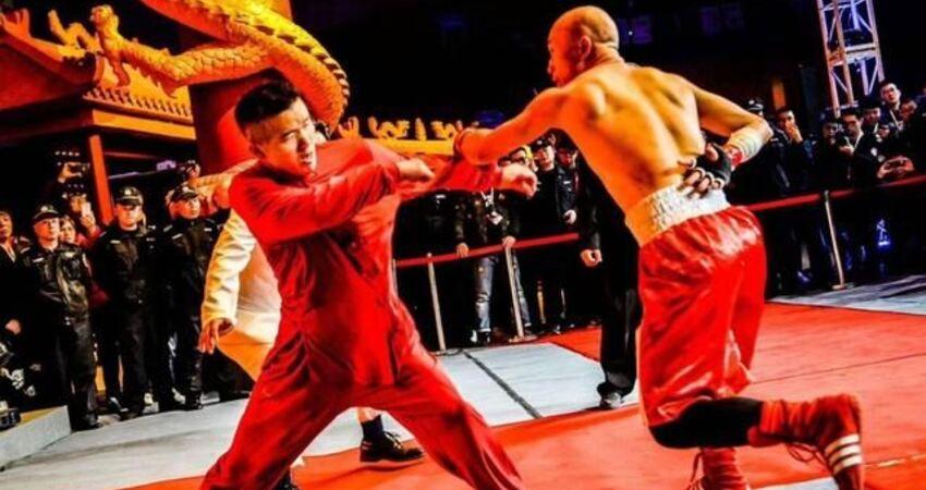 詠春余昌華:我曾經制服美國大力士,僅用20多秒就用寸拳將其放倒