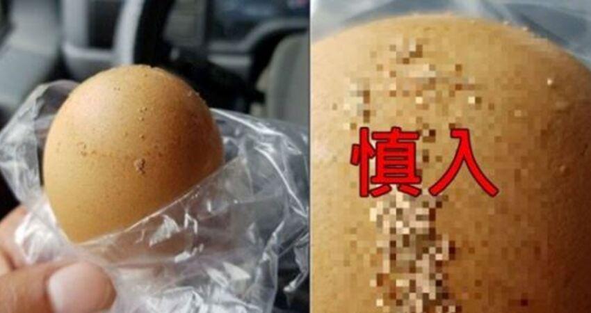 密集恐懼症!蛋殼上黏「密麻小米球」??送蛋司機上網問…釣養雞人曝真相:怕爆