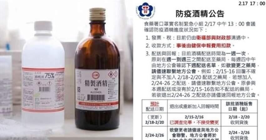 有影|酒精有貨了!全台6000家健保藥局將開賣「防疫酒精」,每瓶賣40元!網讚:「佛心價」