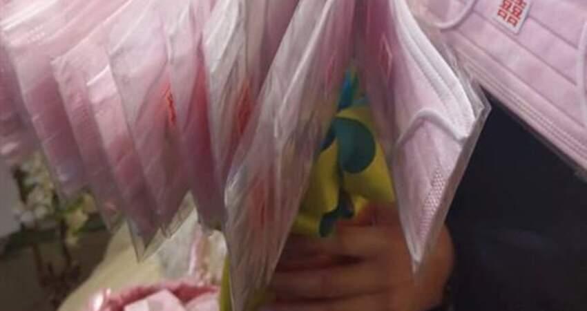 結婚不發喜糖「改發口罩」 超狂「口罩捧花」網友推:這禮物有錢也買不到!
