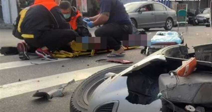 擦撞貨車後逆向 17歲騎士被撞飛倒地…傷重身亡