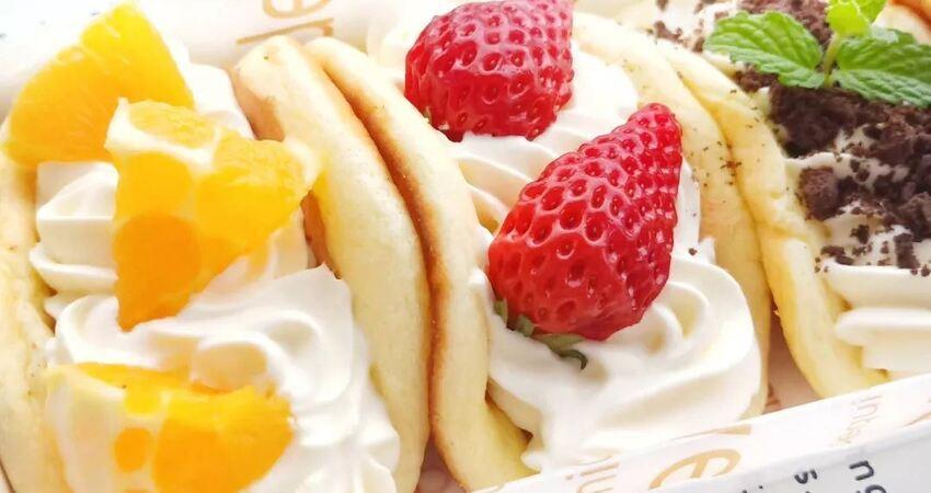 水果歐蕾蛋糕,明明可以靠顏值吃飯卻偏偏要以味誘人
