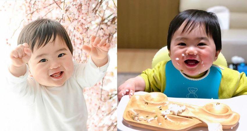 日本媽媽曬1歲兒子的「蠢照」走紅網路,笑噴網友:又想騙我生猴子!