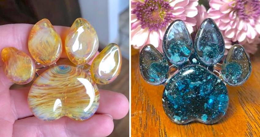 這一生都不想跟你分開… 客制晶瑩「骨灰玻璃藝術」永遠記住毛孩