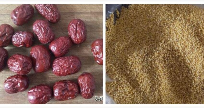 小米紅豆粥,紅豆提前處理一小步,紅豆好爛,米粥粘稠好吃一大步