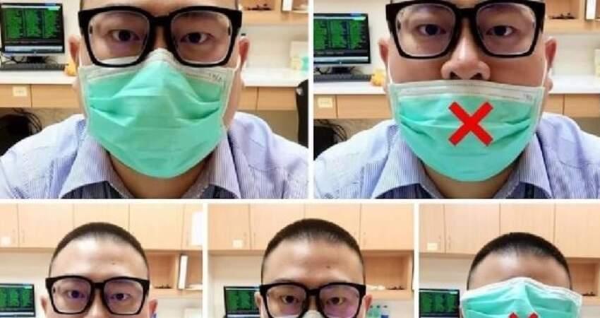 醫療口罩的「正確的穿戴方法」!方法對了,才能有效防疫