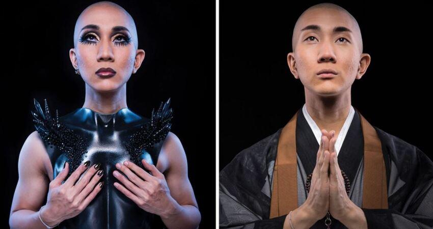 日本和尚踩高根鞋宣揚佛法 衝美國當化妝師還公開大秘密
