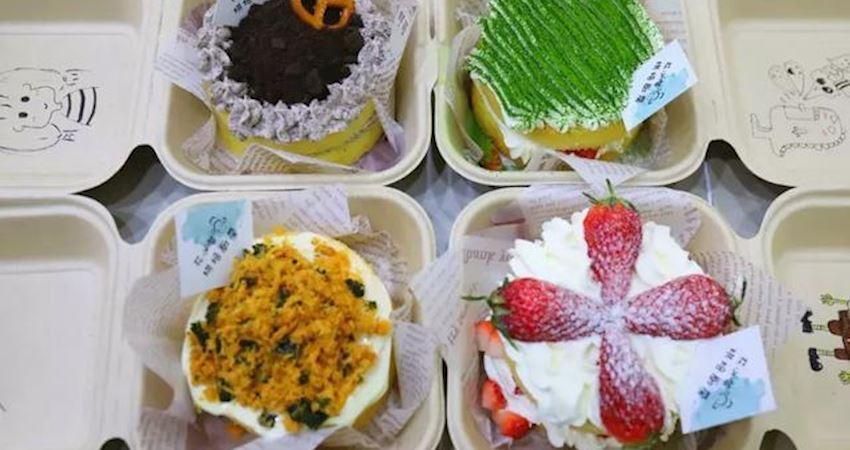 這款風靡ins的盒子蛋糕,能治癒全城陽少女...