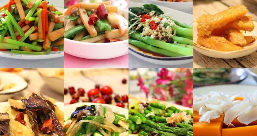 8道清清爽爽有滋有味的素菜,讓你的節日餐桌更受歡迎!