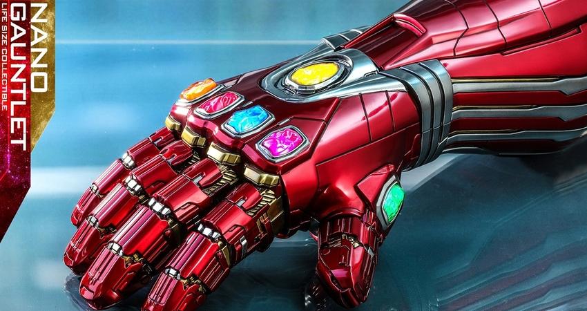 看完《復仇者4》這支必收藏! 玩具商「1:1鋼鐵人版無限手套」限定發布