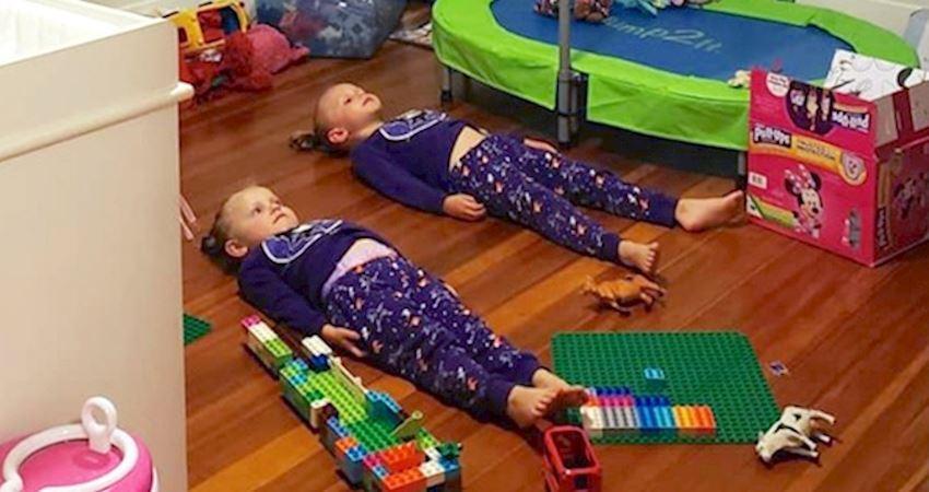 怎麼讓小孩靜著不動? 天才媽想出大招「每晚為睡衣充電」她們真的信了