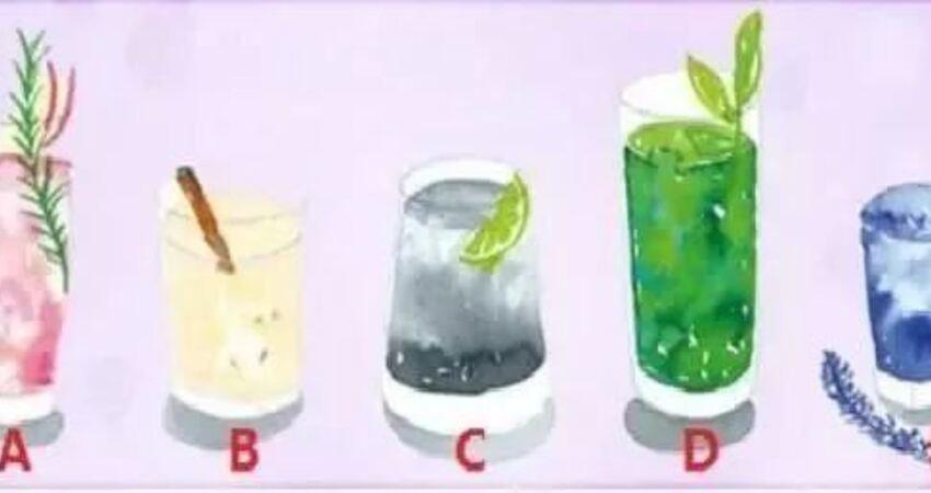 心理測試:你的人緣如何?喝一杯飲料看看