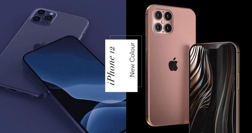 低調又不失奢華!iPhone12兩大新色取代夜幕綠 「海軍藍&玫瑰金」成歷代最美!