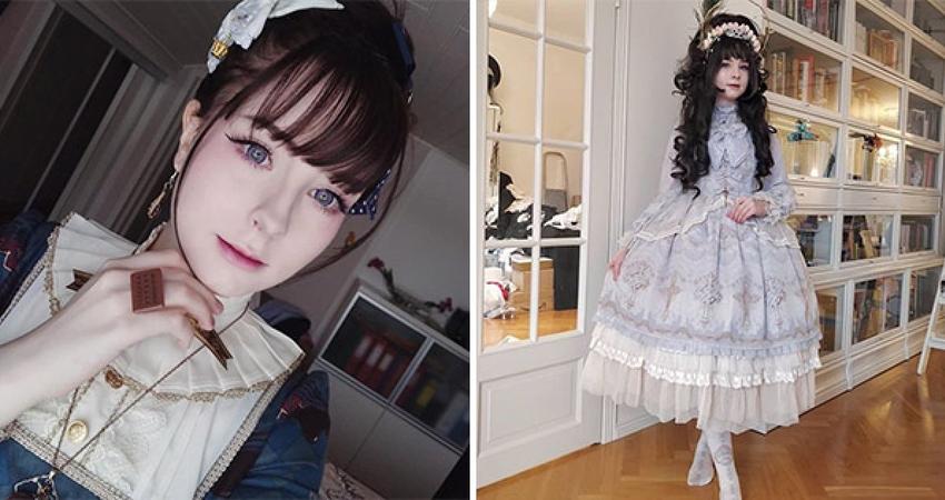 不穿T恤、牛仔褲!19歲女孩「穿回18世紀」被當怪咖 她照樣開心做自己