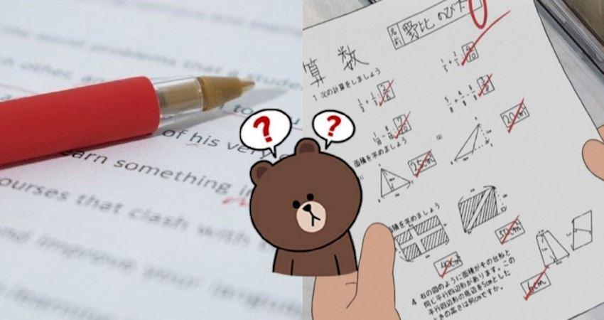 不說你不知道...為何「改考卷限用紅筆」?深奧到要用「物理原因」解釋:長知識了!