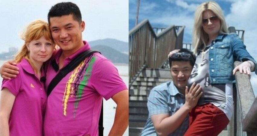 中國小伙和俄羅斯姑娘結婚生子後曬照片,網友卻直呼孩子太神奇!