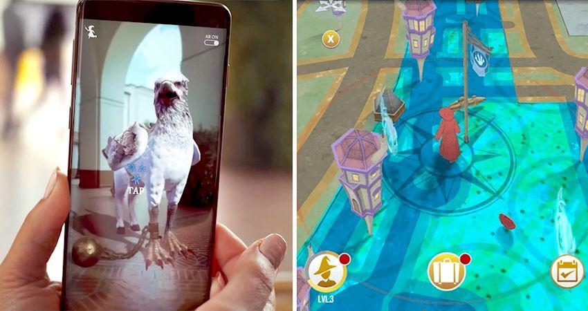 《哈利波特》新手遊用AR進入魔法世界! 與奇獸相遇、還能和世界魔法師交手