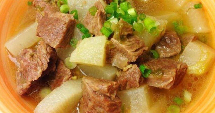 牛肉燉蘿蔔最好吃的14種做法,湯鮮味美配米飯絕了