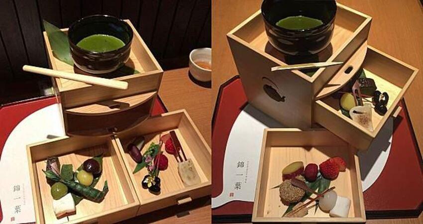 和式HIGHTEA!三層木箱抹茶下午茶