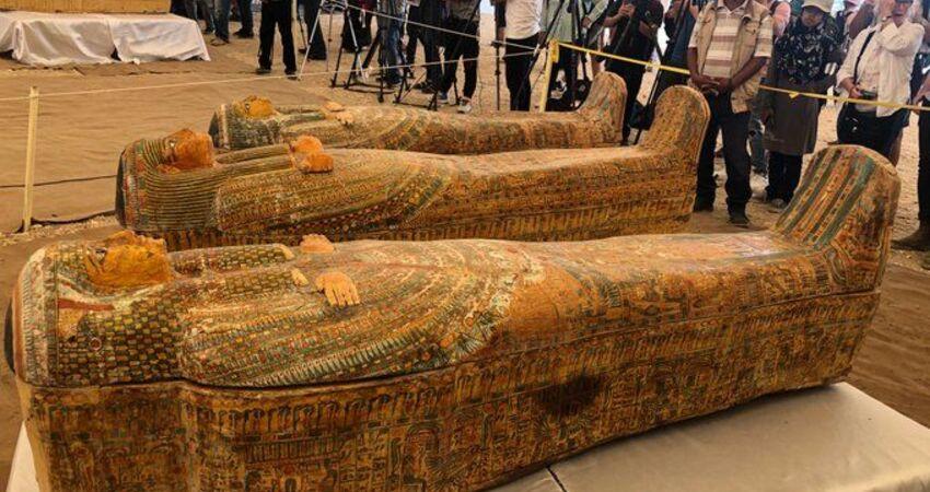 埃及考古重大發現 勒克索出土30具近3000年前古棺