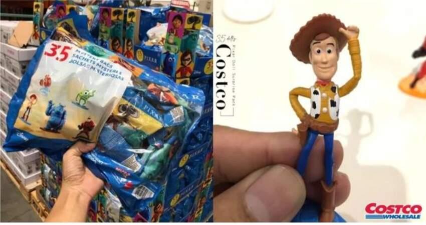 一隻不到20元!好市多「Pixar公仔驚喜包」每包35款公仔,精緻程度不輸扭蛋