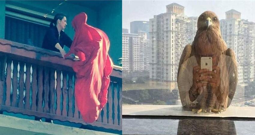 紅遍國外社交網路的17張超現實照片,每一張都很經典