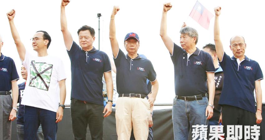 國民黨總統初選民調第4天 2位訪員勾錯支持對象遭汰除