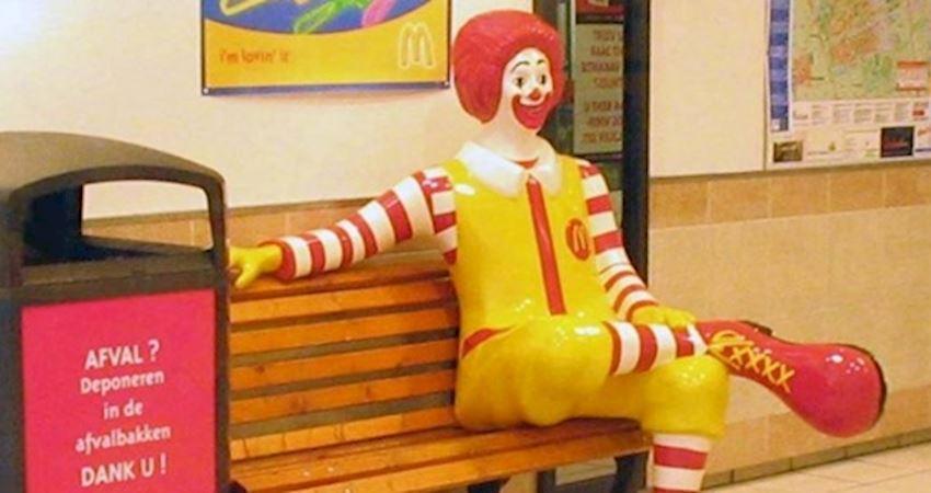 麥當勞叔叔為何都消失了?背後原因「沒那麼單純」再也不敢興建...網嚇:雞皮疙瘩...