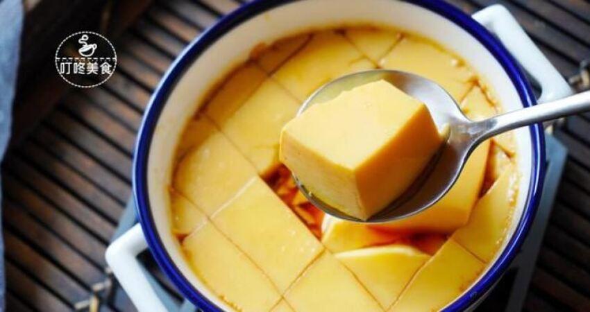 蒸雞蛋羹時,別直接加水就蒸,記住3個小竅門保准嫩滑無氣孔