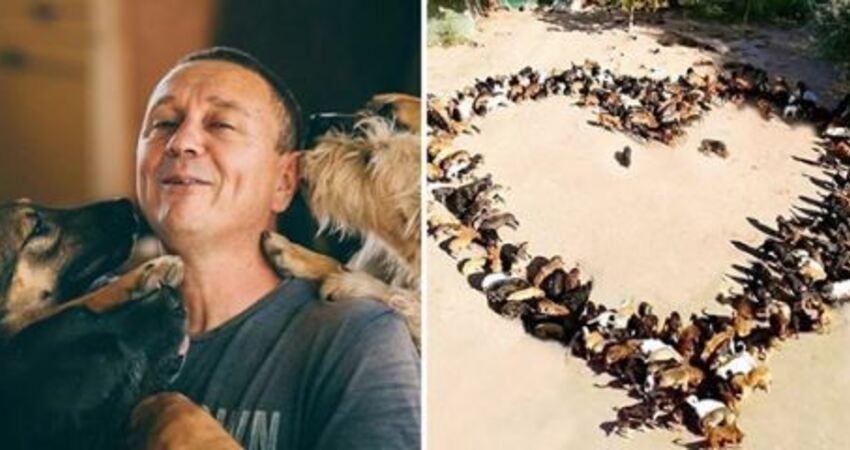 暖男開收容所讓街頭的狗狗有一個家 10年後成為「750隻浪浪最愛的把拔」