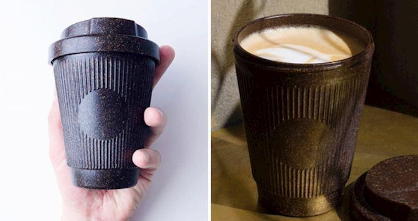 德國男孩發明「咖啡渣杯」環保滿分 100%生物降解「實現零垃圾」