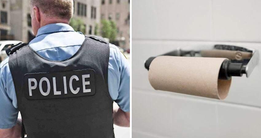請不要嚇到報警! 美警狂接「廁紙不夠」電話無奈:你可以用貝殼擦