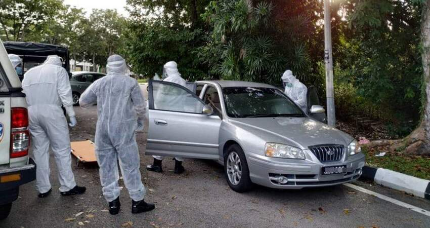 【馬來西亞】疑生前面對困難!保險員車內點火自焚!