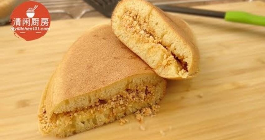 古早味傳統曼煎粿(面煎餅)-酵母發酵