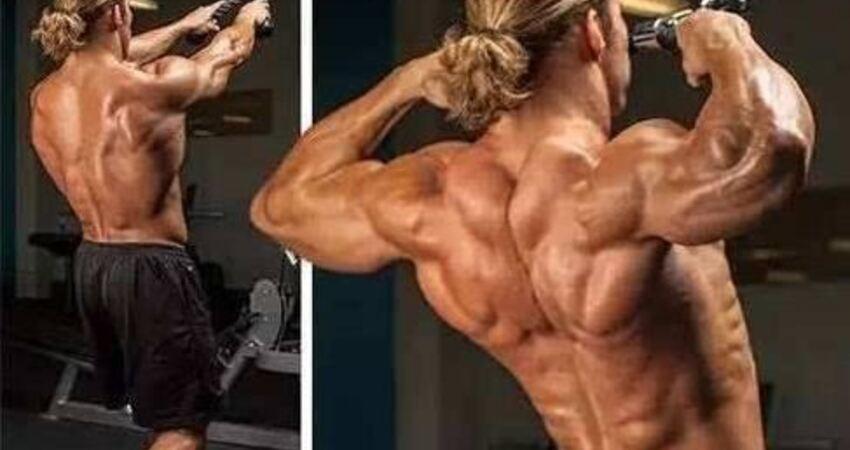 繩索面拉,拉出肩膀和背部的立體肌肉感!