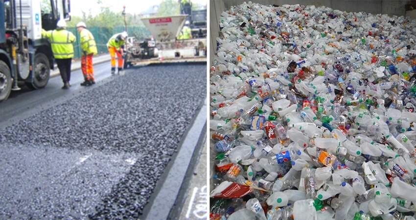 垃圾還有用!環保公司混合「塑膠廢料鋪路」 耐用度「高出瀝青60%」不用一直補