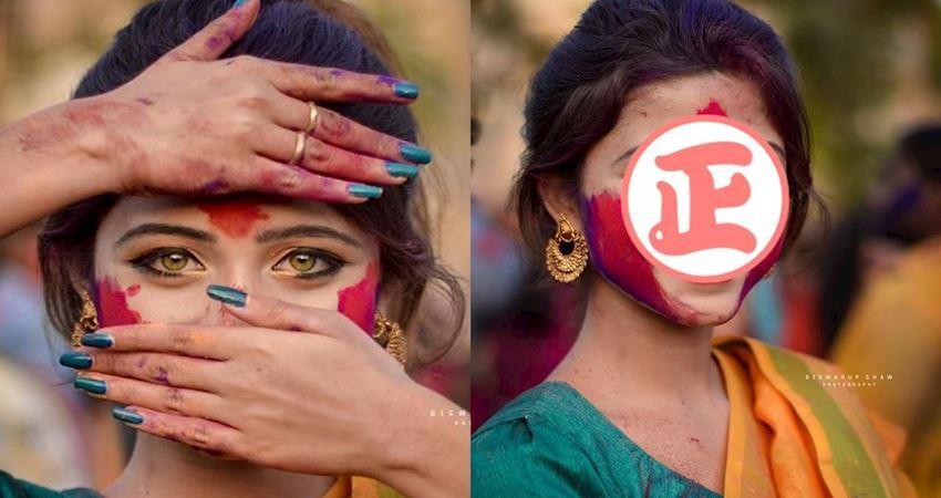 神秘印度女孩「眼睛會勾人」 超正神顏讓網友忍不住分享:已被勾魂