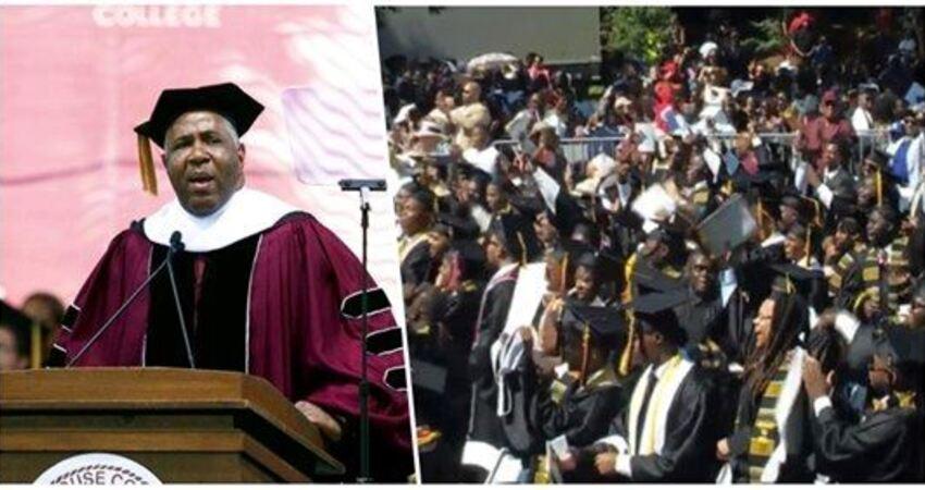 史上最狂畢業禮物!非裔富商「受邀到畢業典禮演講」 話鋒一轉:「全校12億學貸我全包了」全球讚爆