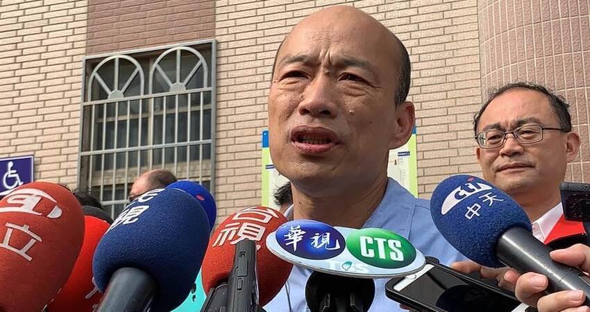 黃光芹小說指控 韓國瑜這樣回應 正式宣戰!
