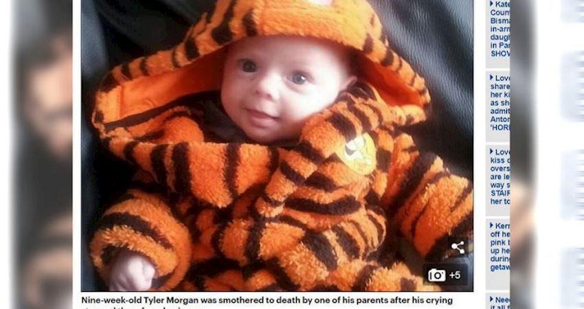 睡醒大哭…打斷父親求歡!小男嬰慘被活活悶死
