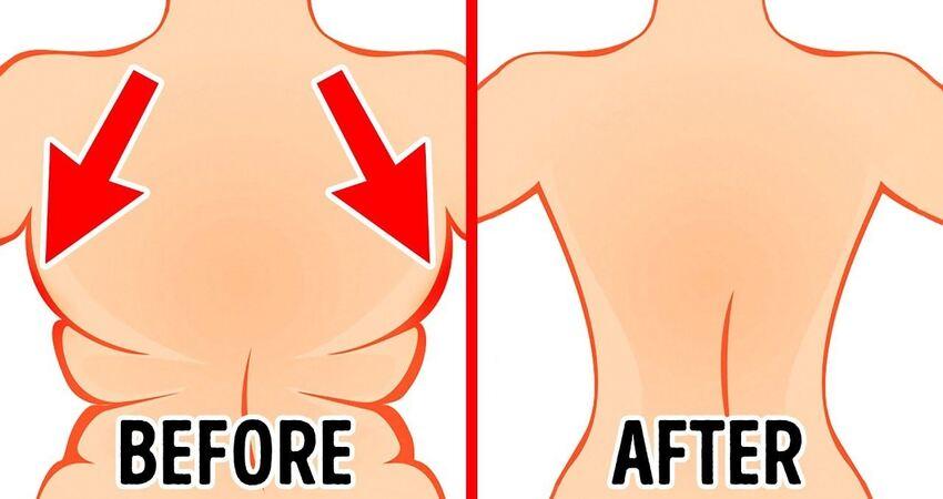怎麼瘦腰又瘦背?每天練這6個動作就對了~堅持4周見效