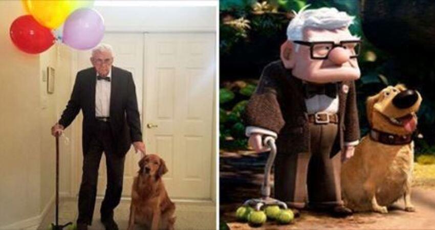87歲爺爺想跟「最要好麻吉」一起扮裝! 他挑這套獲全網讚賞:直接滿分了