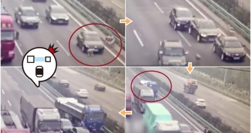 64歲男高公路遭多車輾斃 警調閱國1大雅、中港路段監視器追可疑車輛
