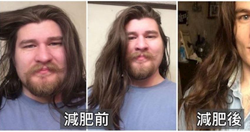 長髮頹廢大叔「胖到媽媽認不出來」 狠甩31kg「帥成迪士尼真人王子」網暴動:史上第一美男❤