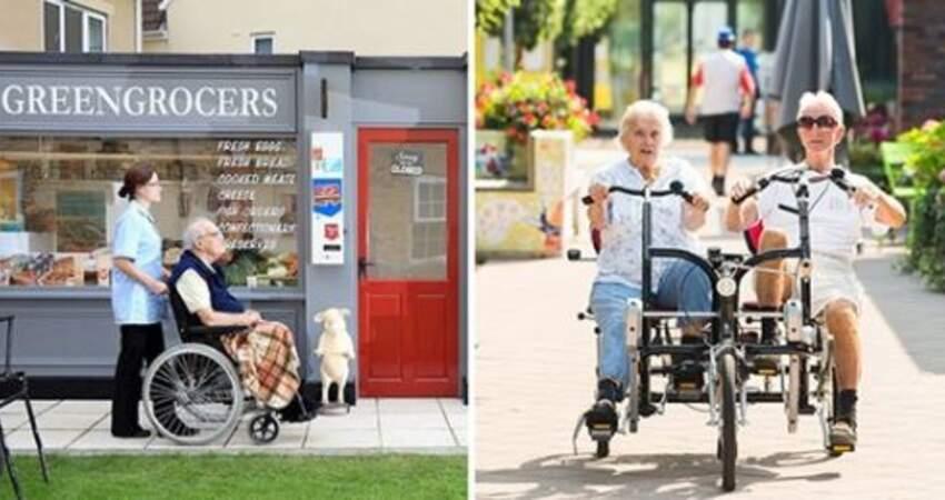 超市、郵局…攏係假! 虛擬小鎮8年瞞152名老人:他們卻活得很自由又快樂