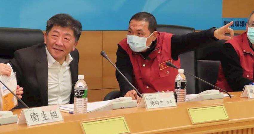 中央疫情指揮中心提升至一級開設,陳時中任指揮官